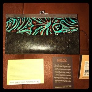 Patricia Nash Wallet with RIF